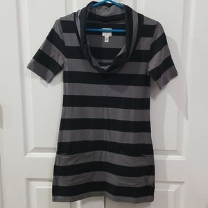 Tommy Jeans Cowl neck tunic shirt